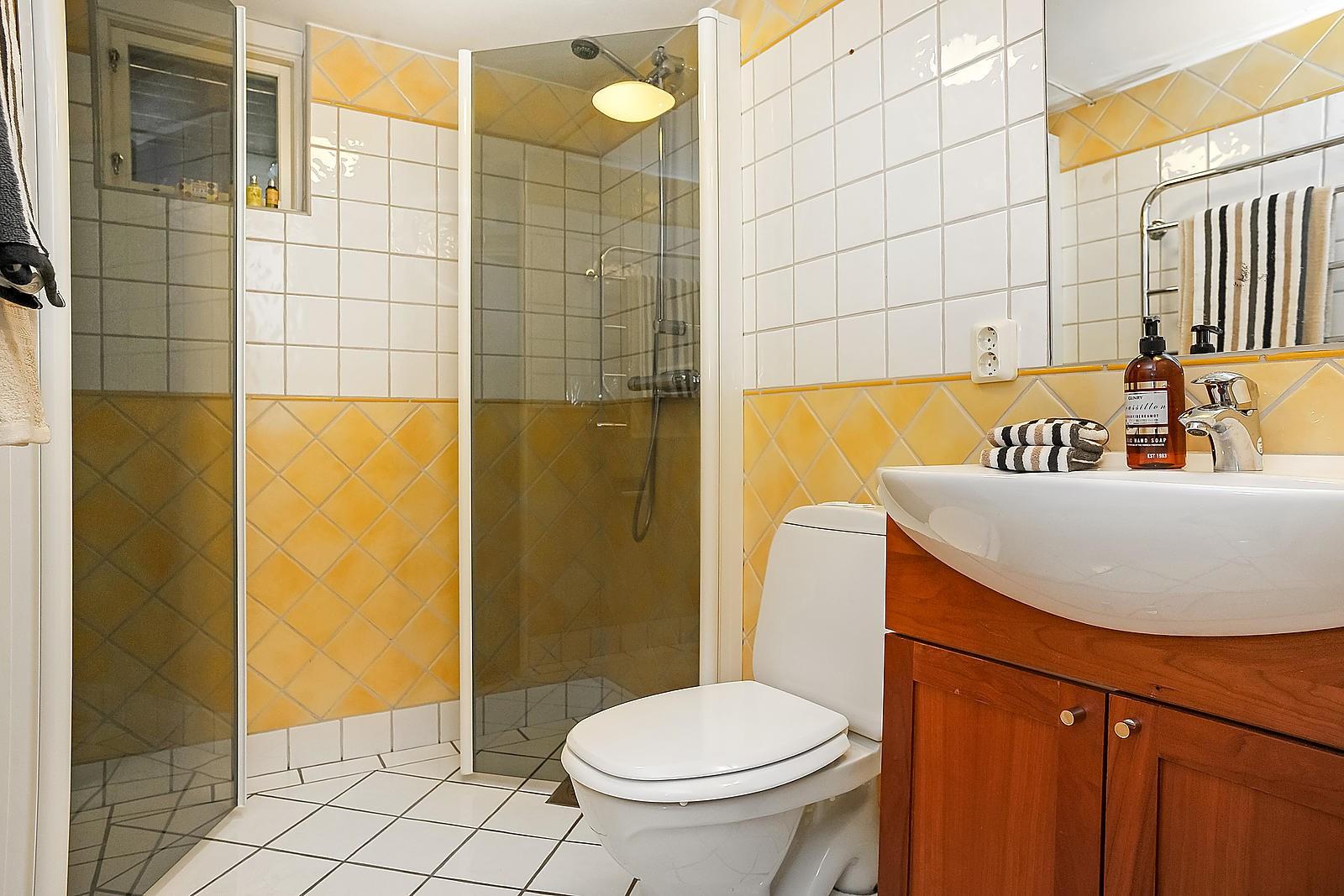 Friliggande villa (sÃ¥ld) | Valkyriavägen 5 Djursholm - Svalnäs ... : vattenburen golvvärme badrum : Badrum