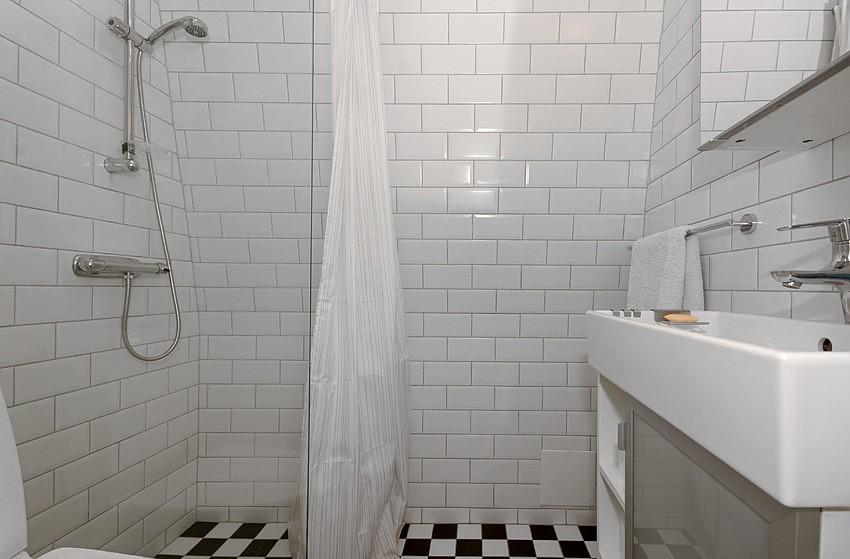 integrerad tvättmaskin badrum