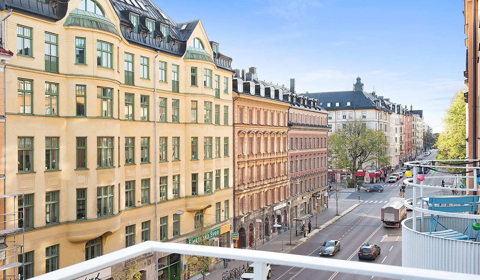 Hornsgatan 94, 4 tr - Utsikt