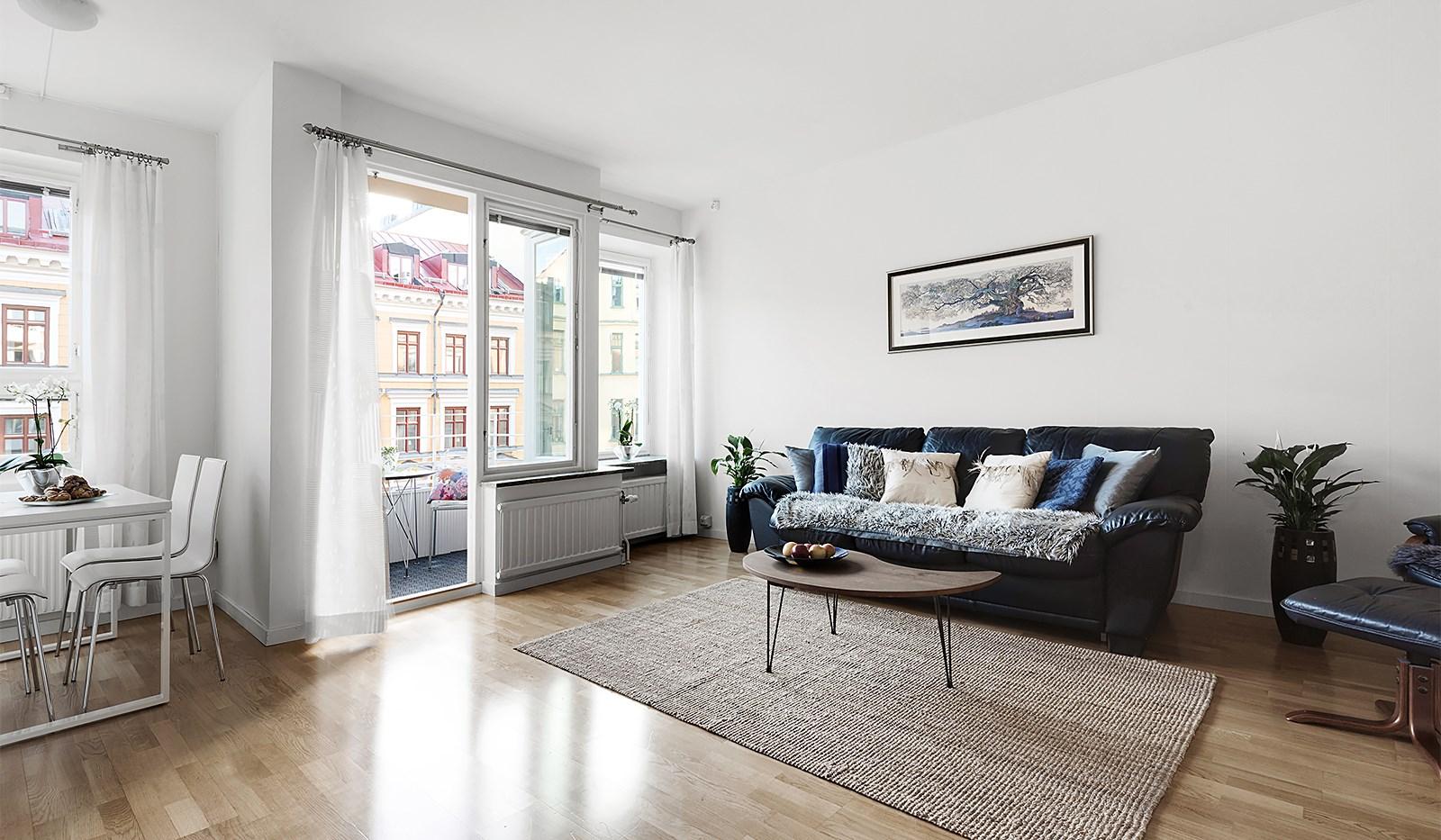 Hornsgatan 94, 4 tr - Vardagsrum