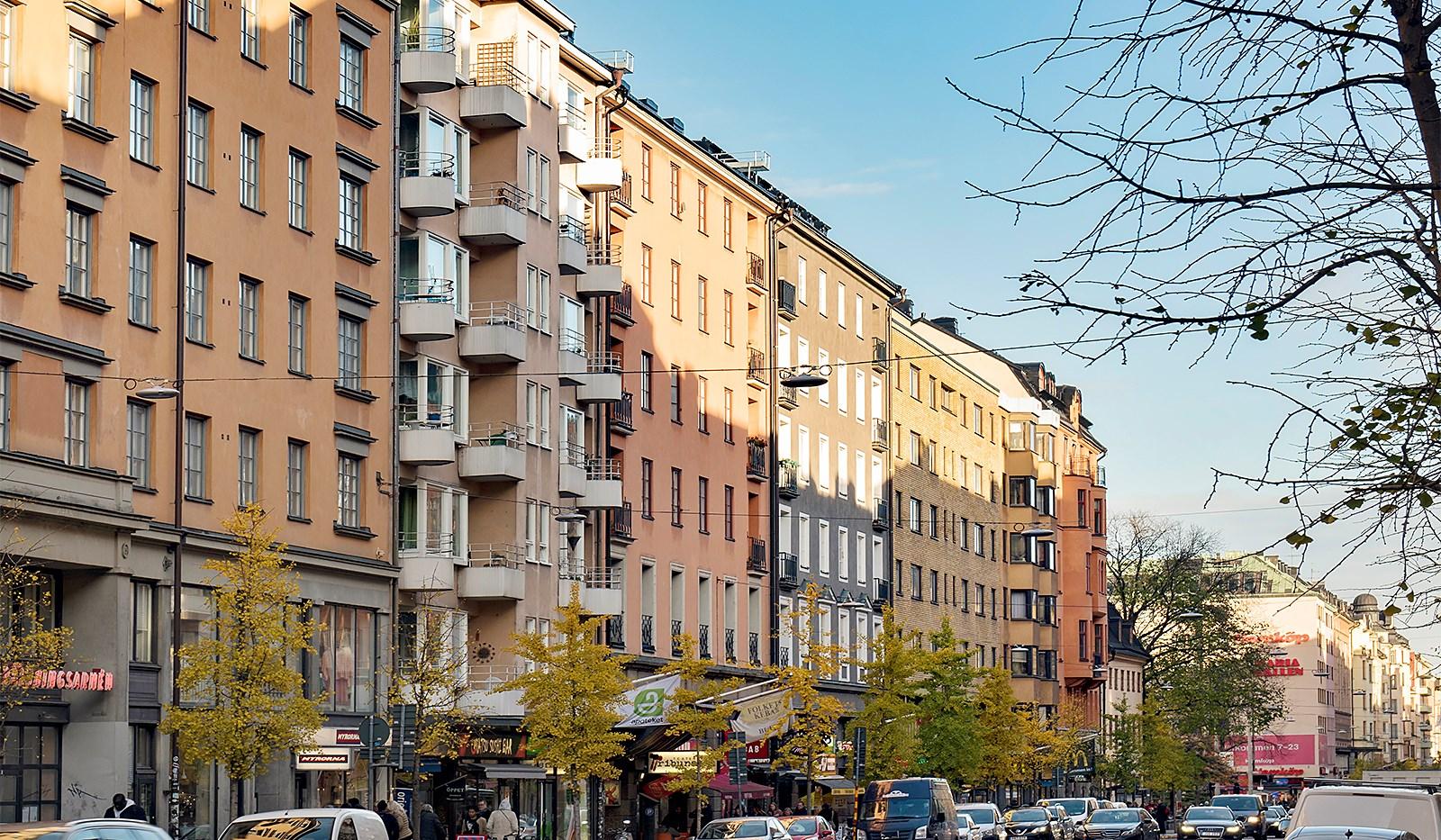 Hornsgatan 94, 4 tr - Fasad
