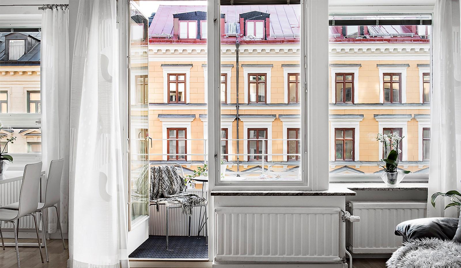 Hornsgatan 94, 4 tr - Fönsterparti