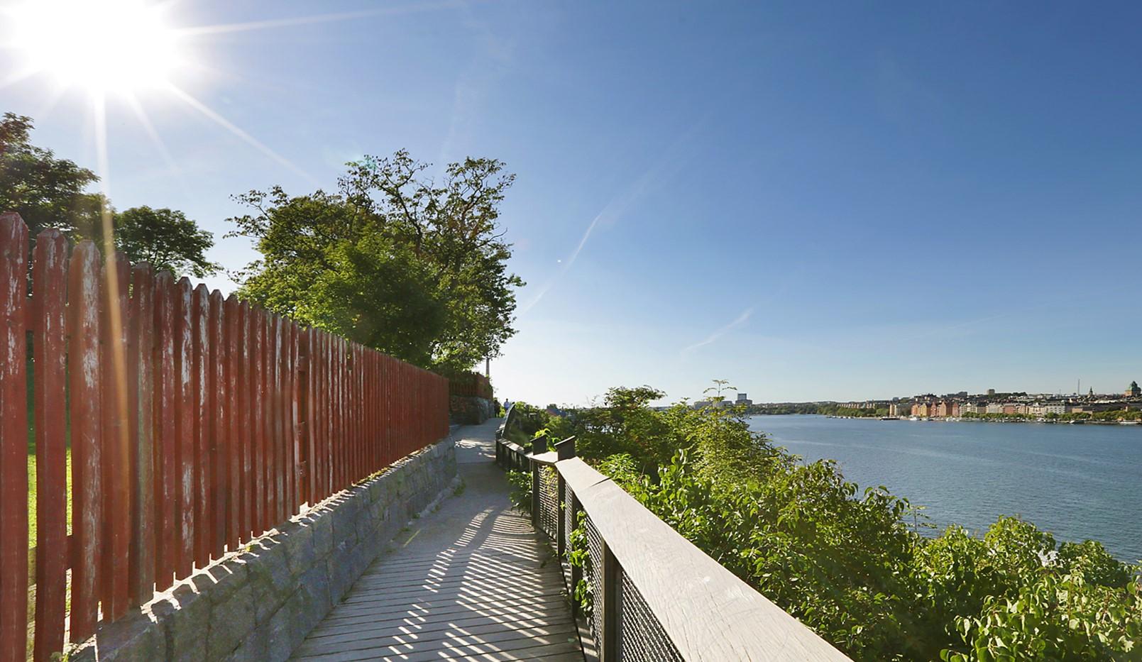 Brännkyrkagatan 34 B, 3 tr - Härliga promenadstråk med utsikt över Stockholm