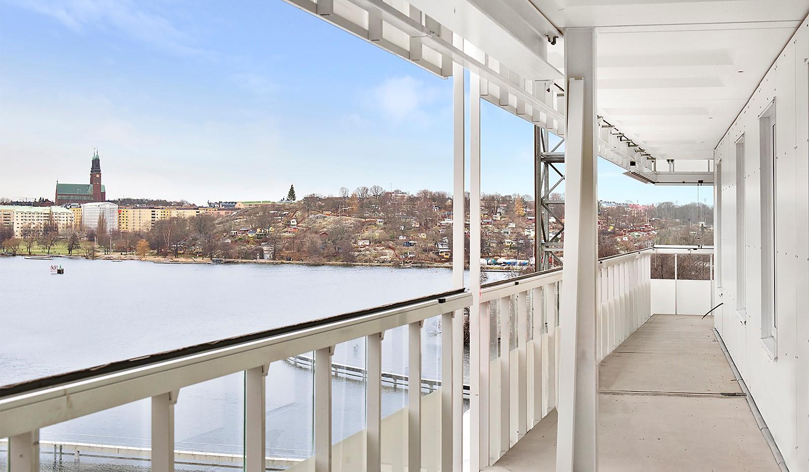Inredning inglasning balkong : Bostadsrättslägenhet till salu   Sjöviksvägen 148, 7 tr ...