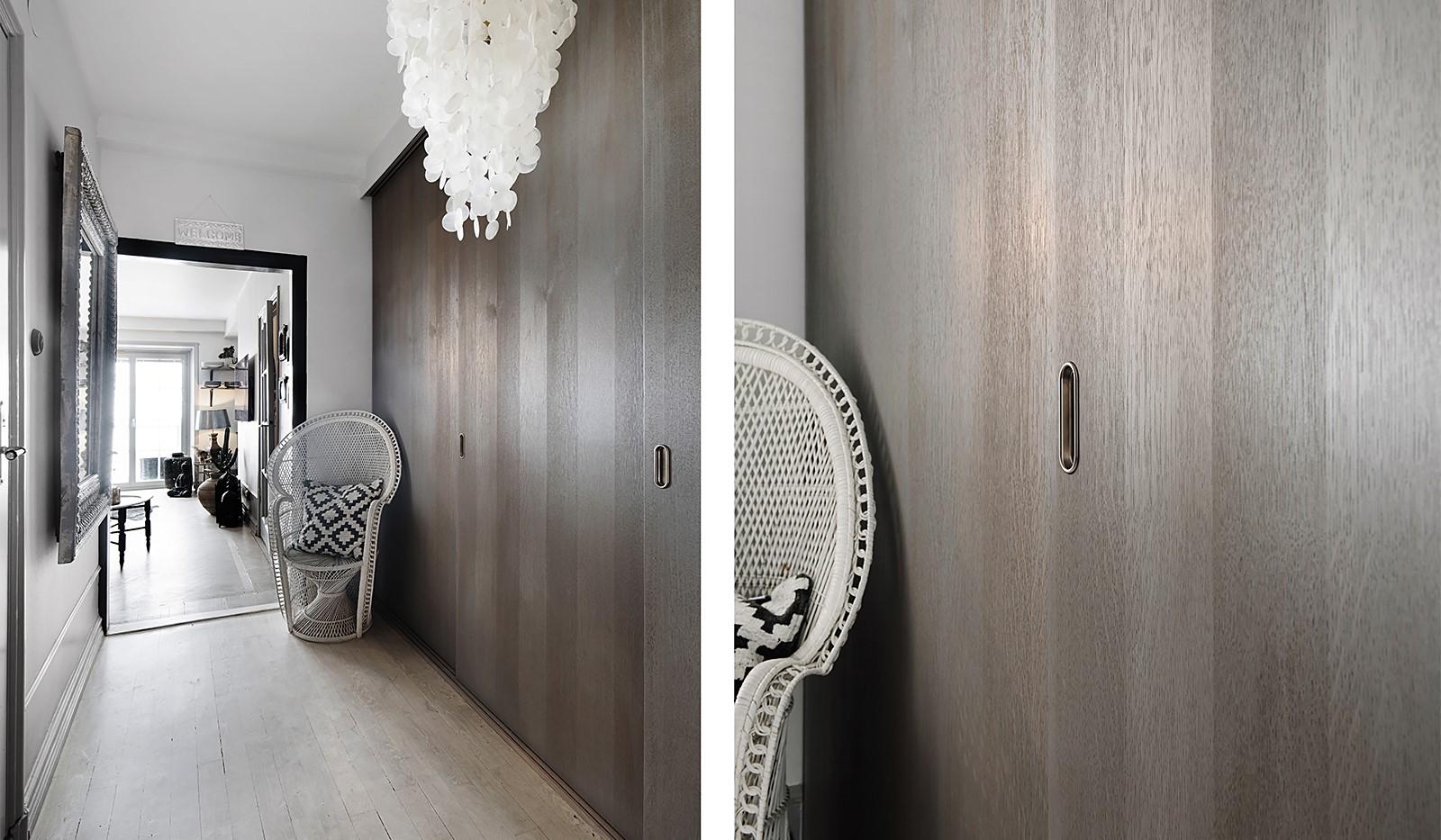 Bergsunds Strand 31, 5 tr, Accepterat pris - Hall med stora garderober
