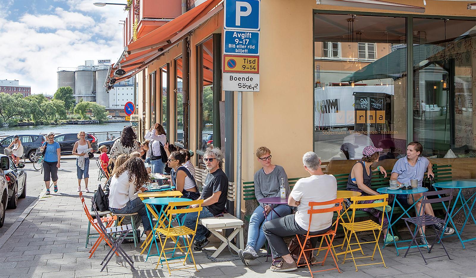 Bergsunds Strand 31, 5 tr, Accepterat pris - Café Vurma som ligger i huset