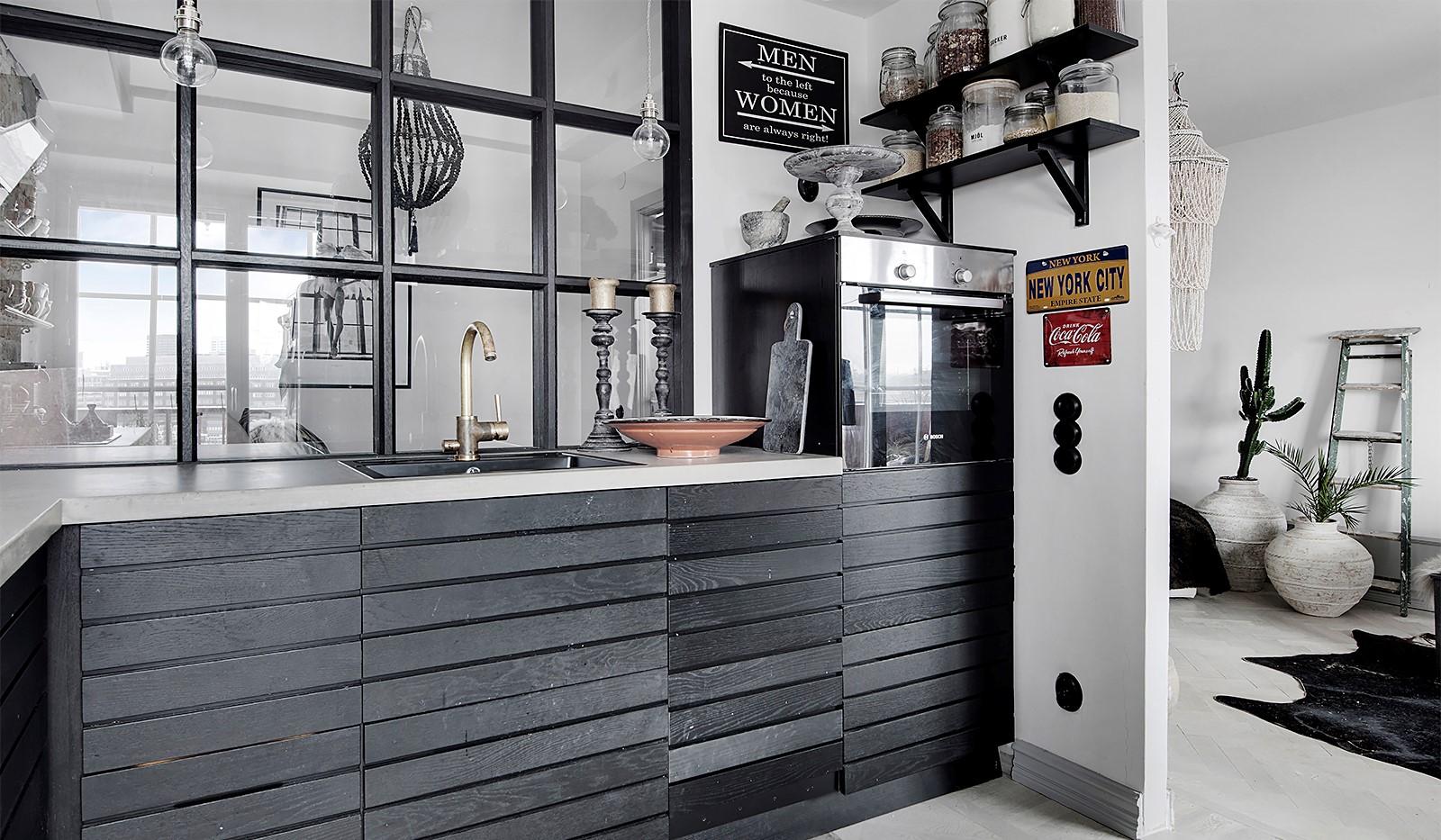 Bergsunds Strand 31, 5 tr, Accepterat pris - Platsbyggt kök från finsnickeri