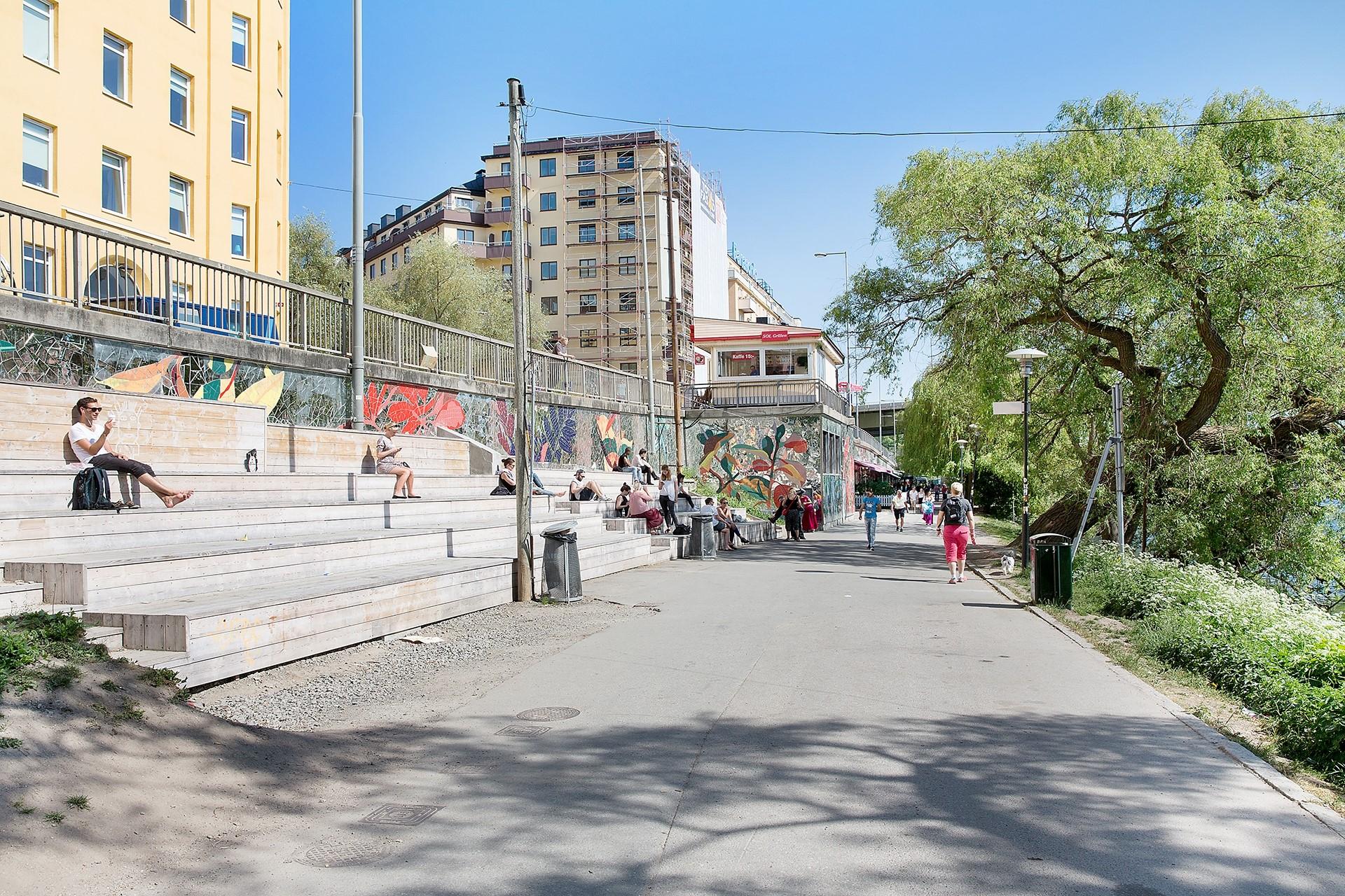 Heleneborgsgatan 26, 1 tr - Områdesbild