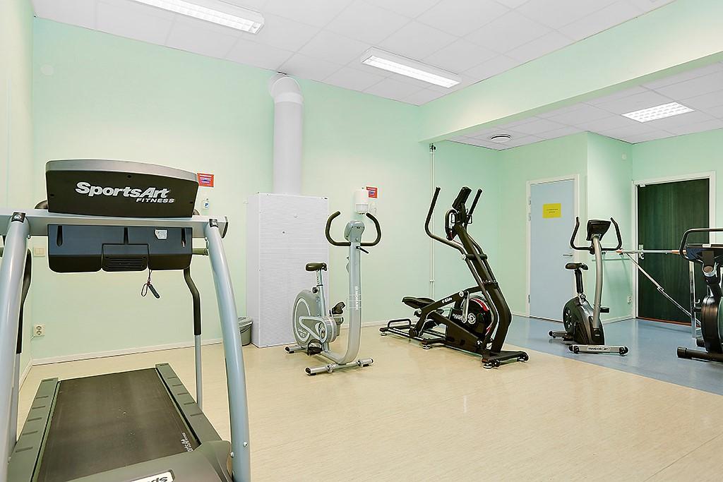 Elgentorpsvägen 21 - Goda möjligheter till träning och motion
