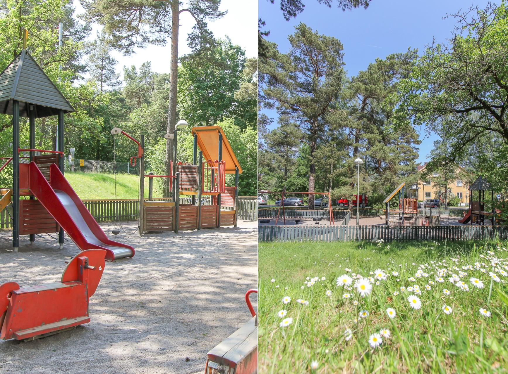 Lekpark i Olovslund