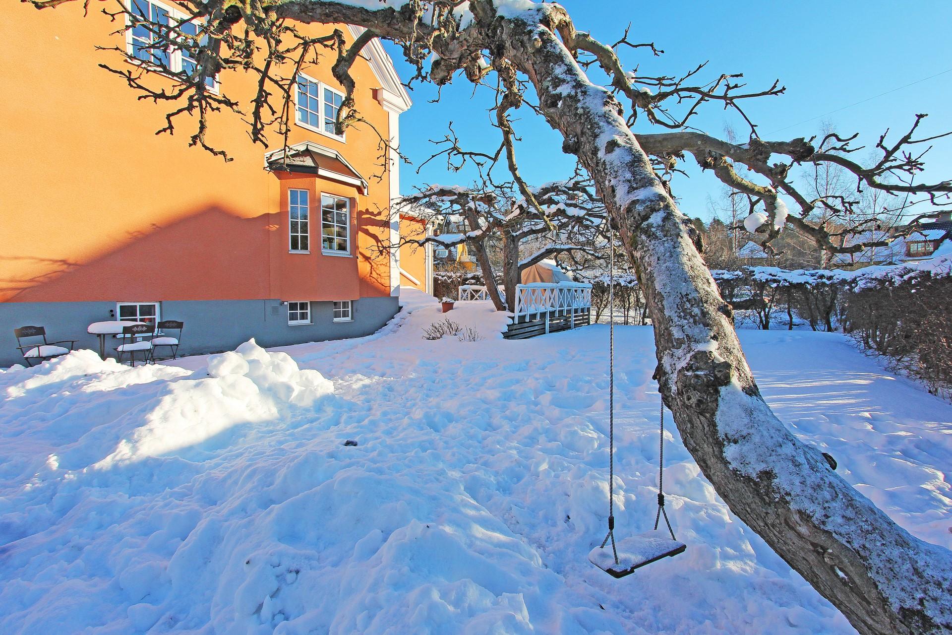 Vinter på Slättvägen
