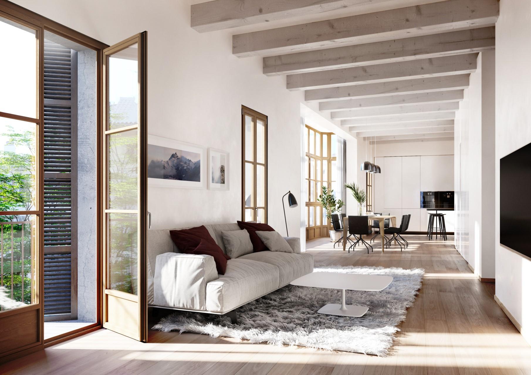 Lägenheter Plaza Mercadal, Mallorca-1