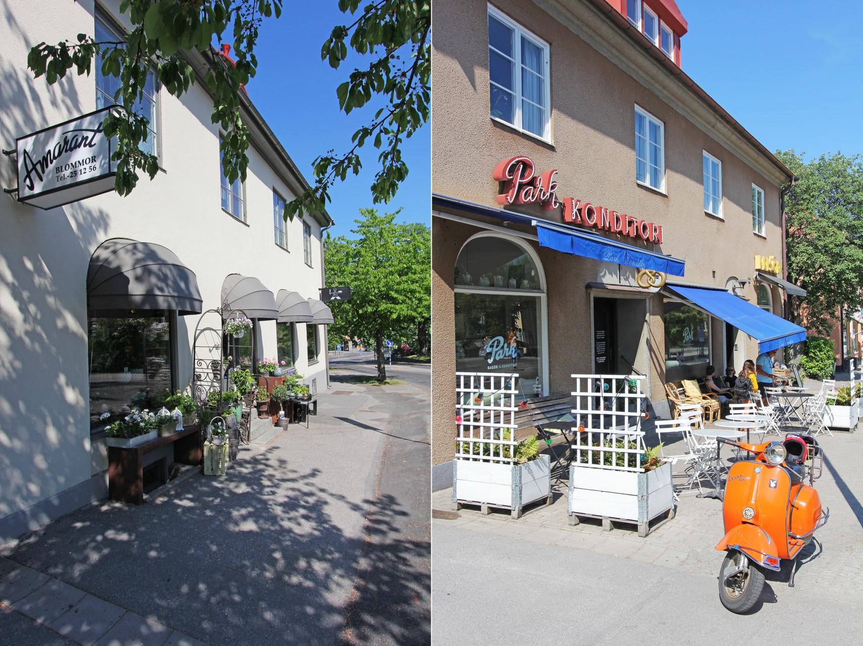 Park konditori & blomsteraffär vid Alléparken