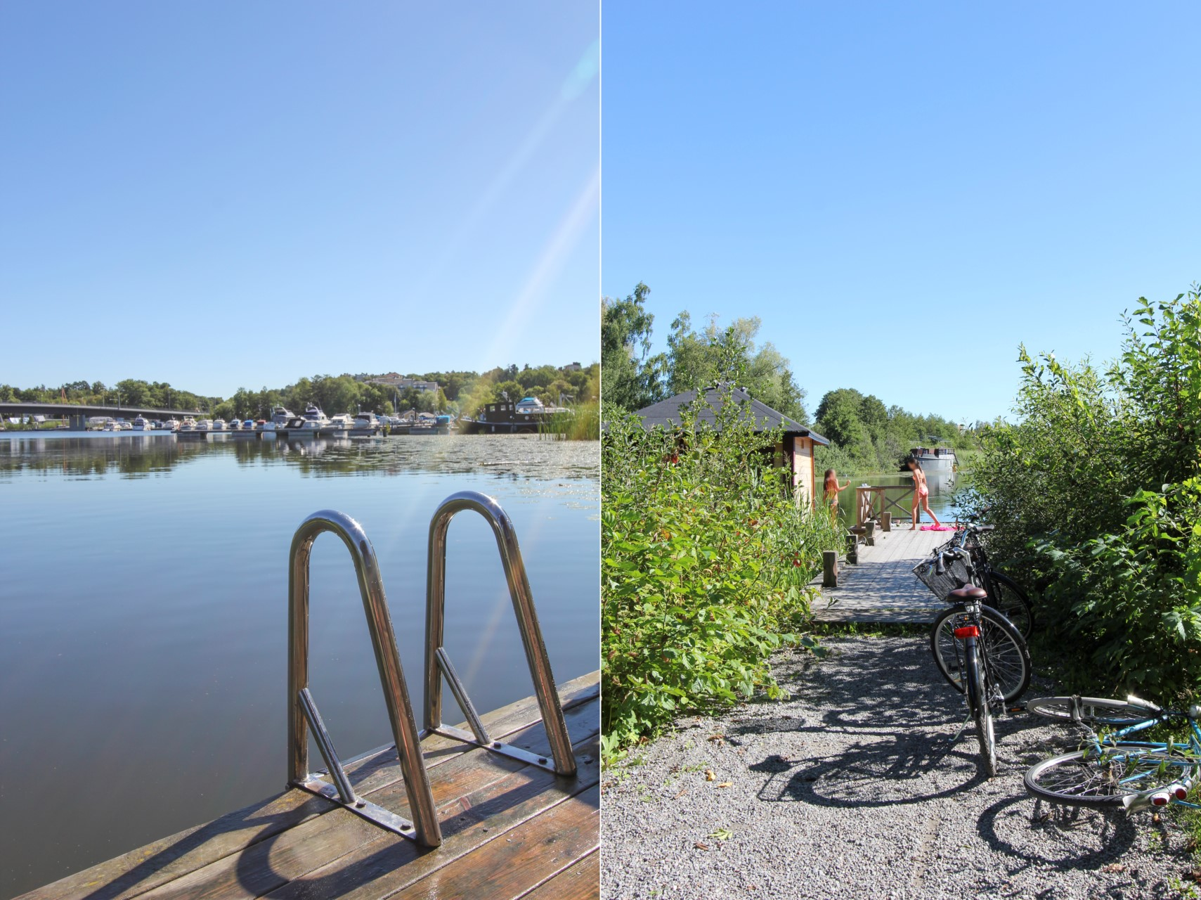 Cykelavstånd till Ulvsundasjön