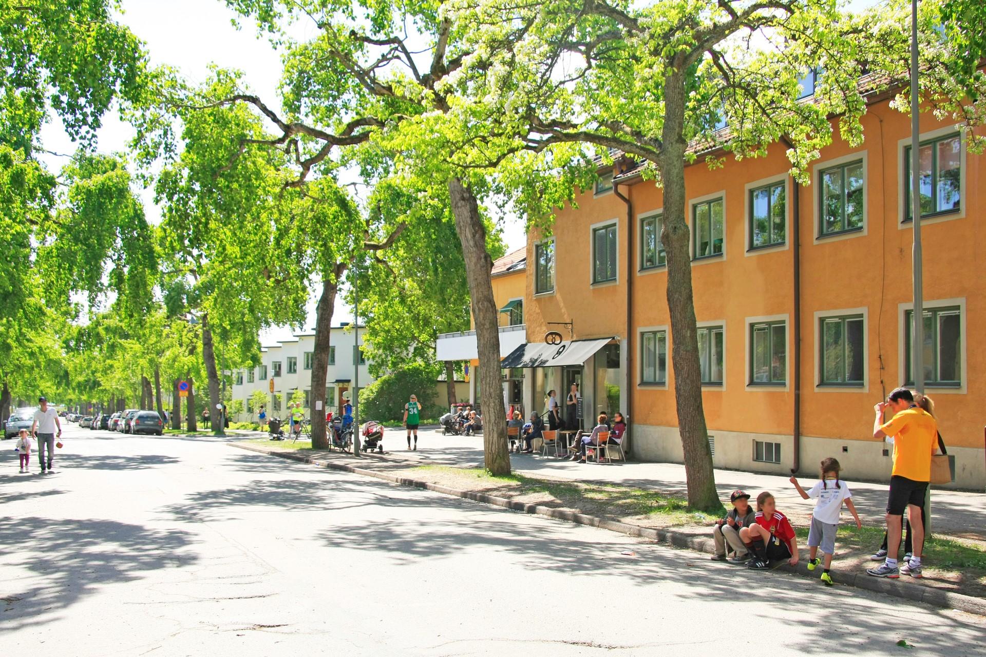 Gateau på Ålstensgatan