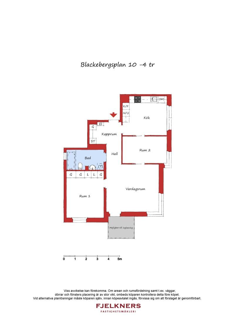 Blackebergsplan 10 - våning 4/12-9