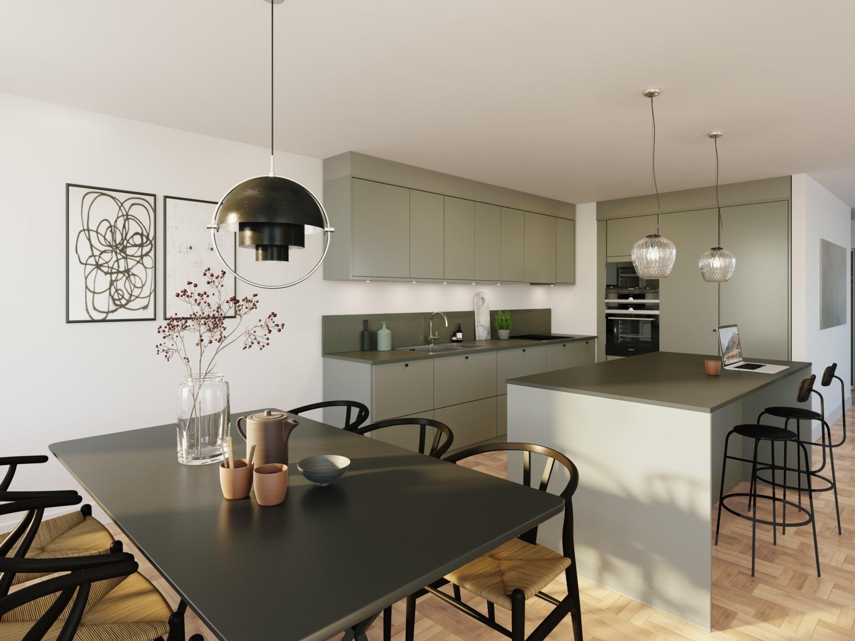 Animerad bild - exempel på köksinredning