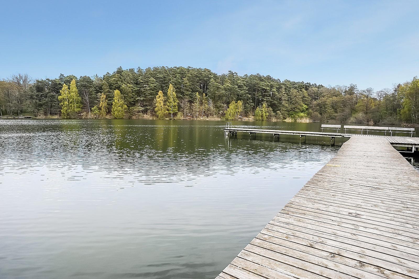 Naturskönt vid Ösbysjön