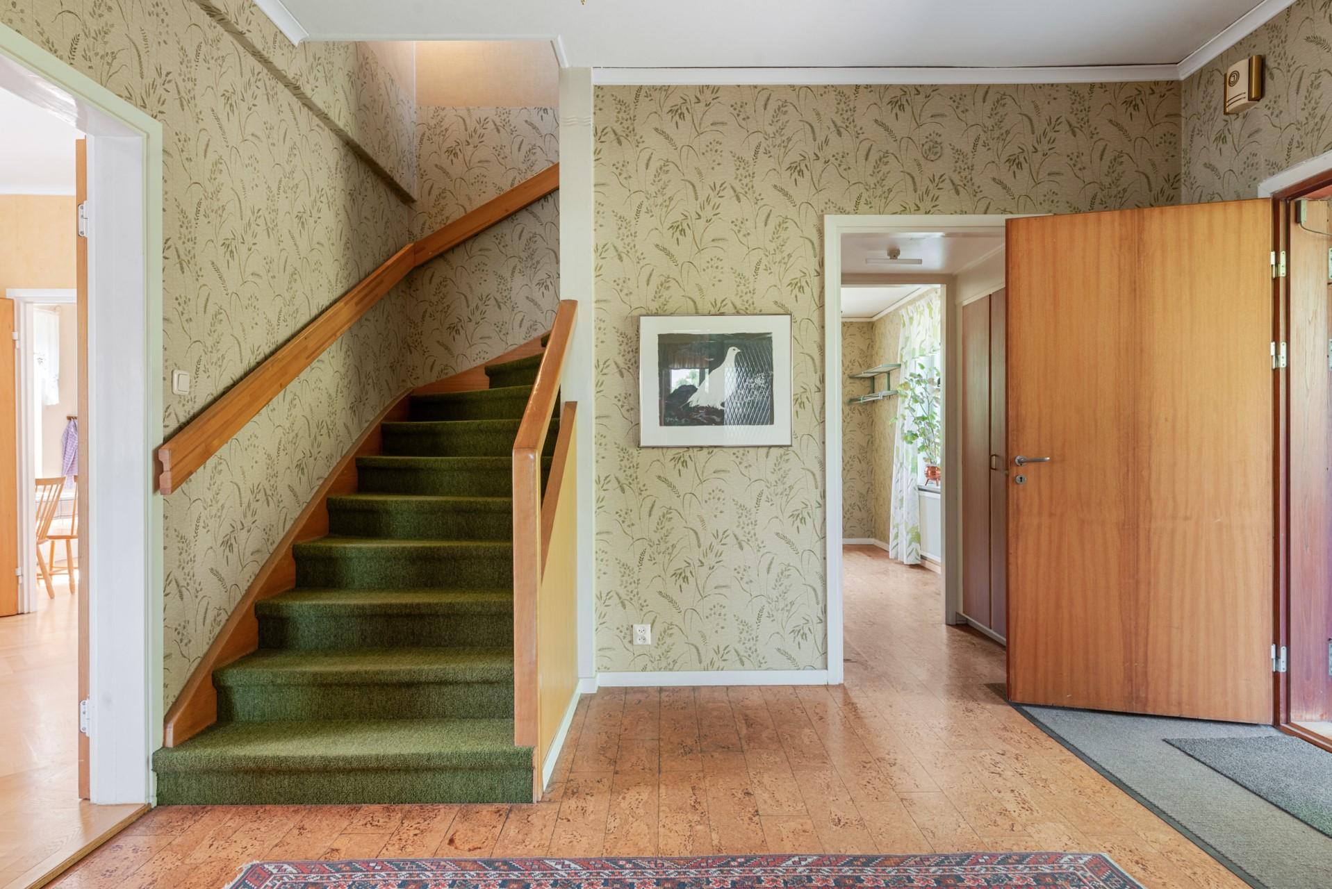 Trappa till övervåningen