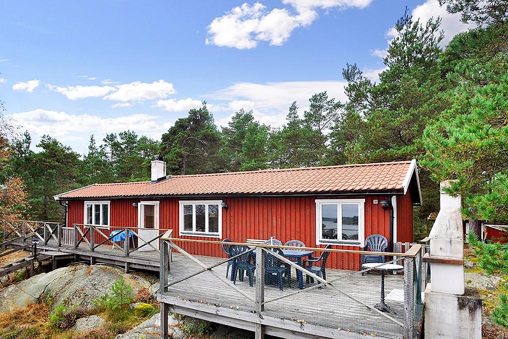 Smådalarö/ Kalvholmen/Gränö - Altan mot sjön