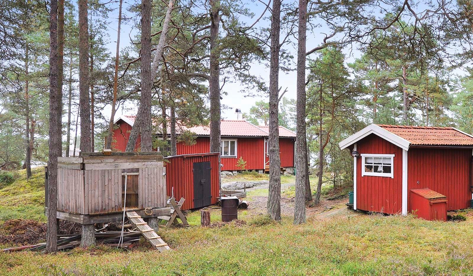 Smådalarö/ Kalvholmen/Gränö - sett från stigen