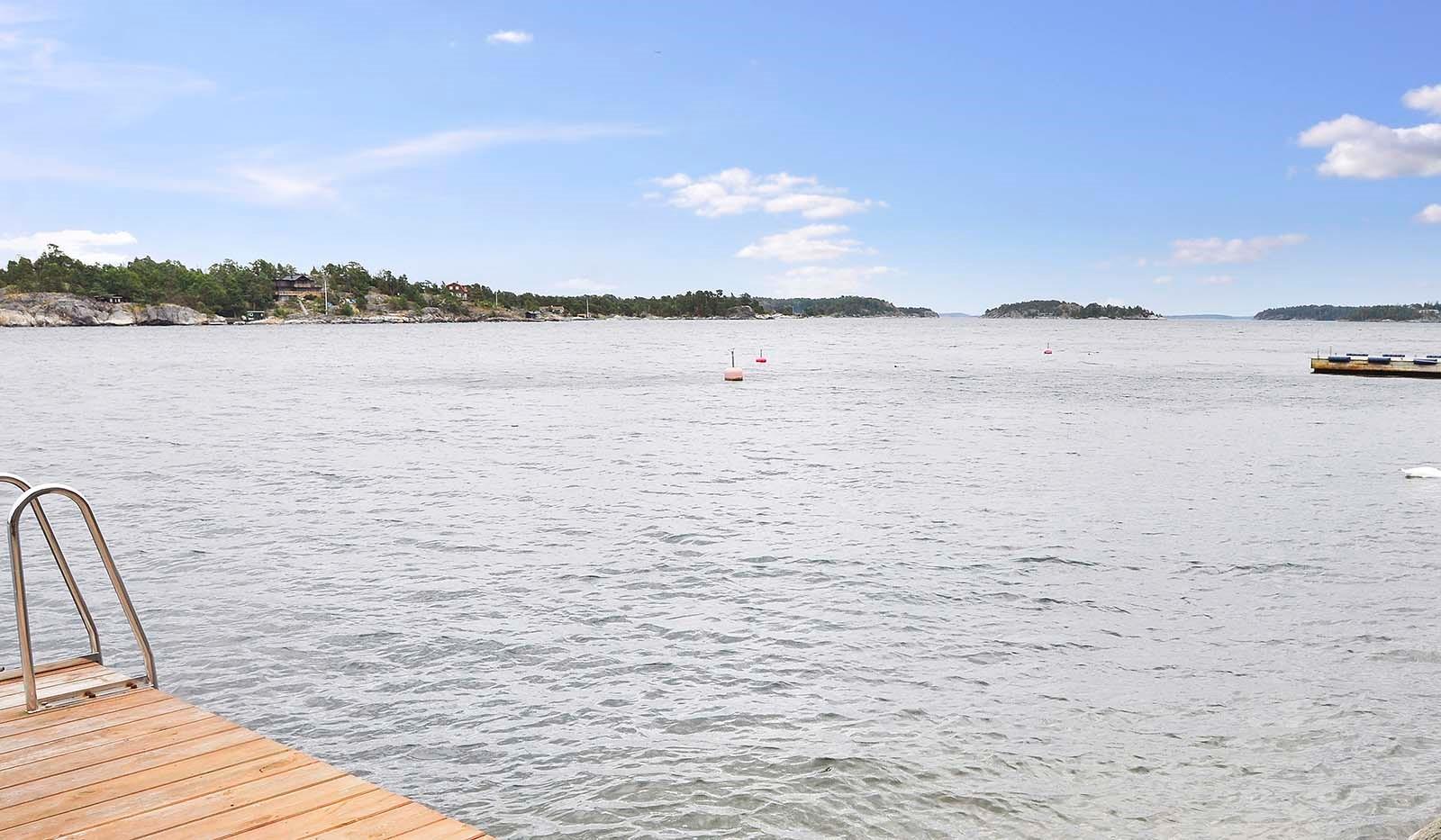 Smådalarö/ Kalvholmen/Gränö - Från bryggan