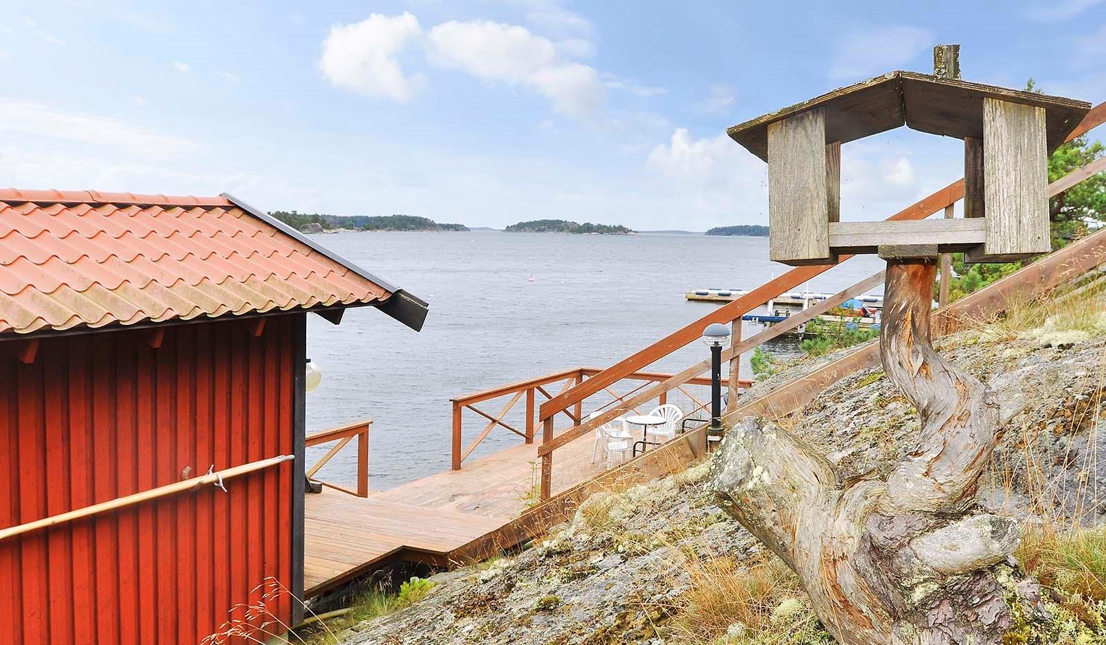 Smådalarö/ Kalvholmen/Gränö - Mat till havsörnen?