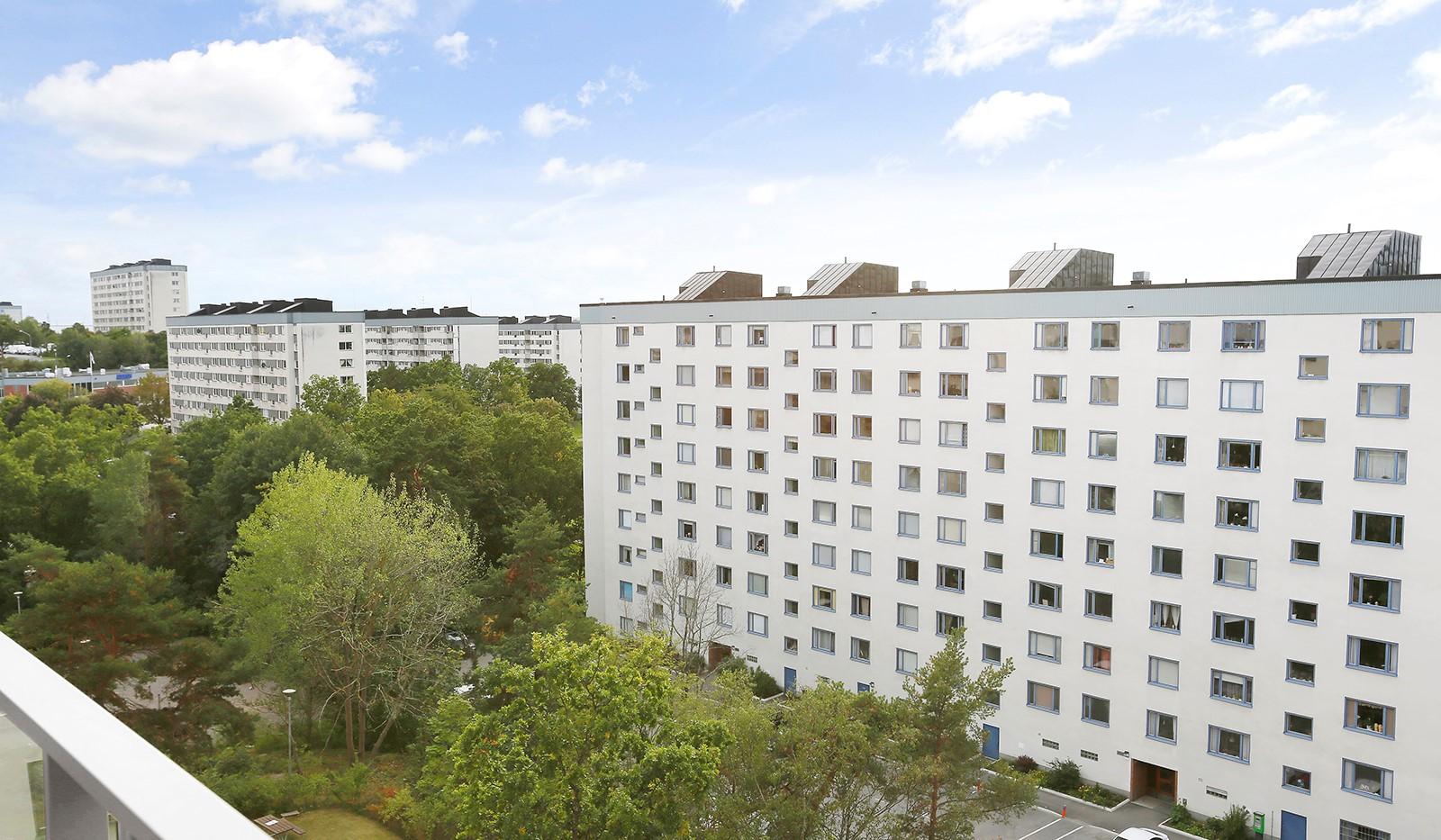 Ålgrytevägen 29B, 6tr - Utsikt fr balkongen