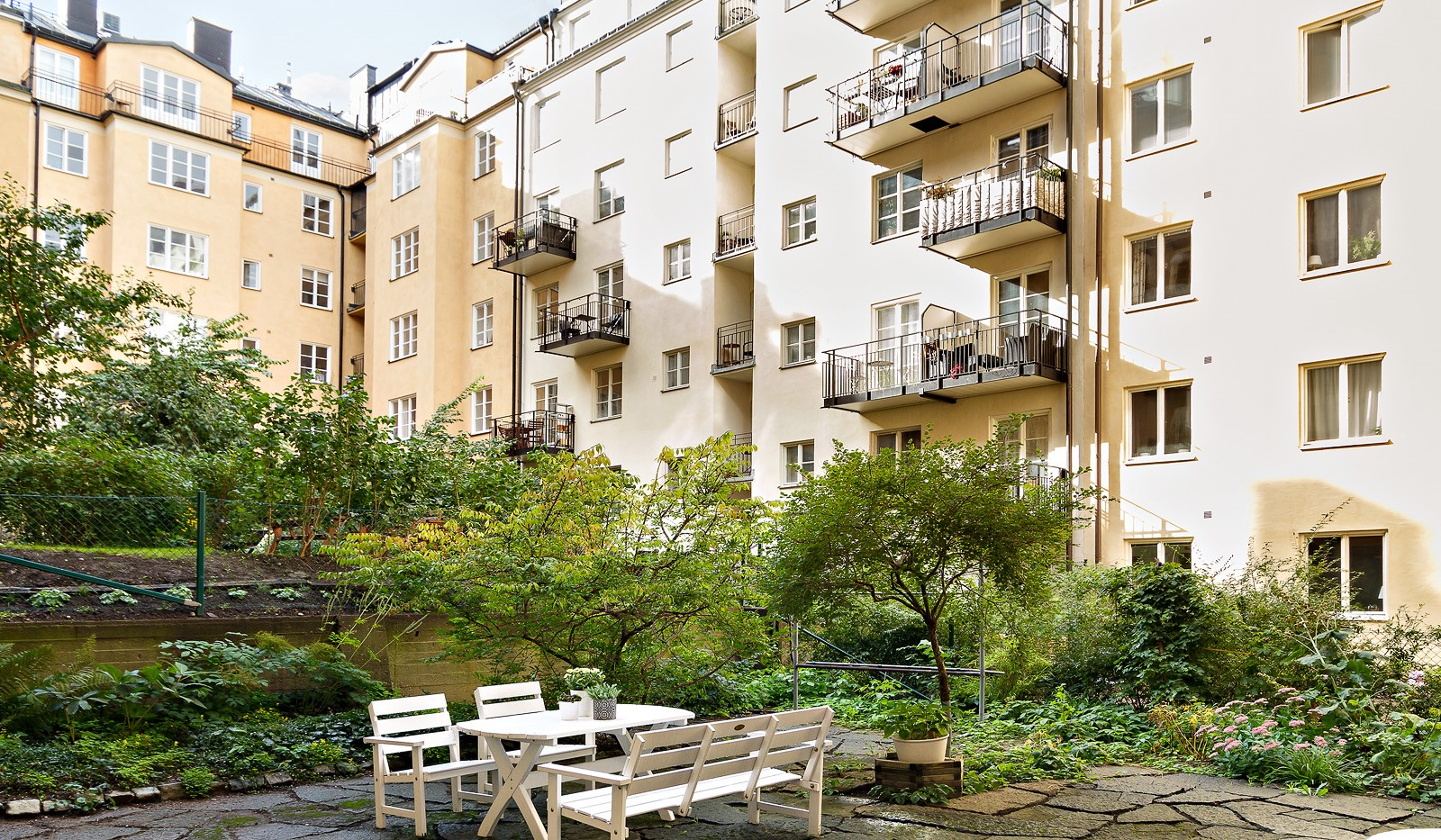 Folkskolegatan 4 - Innergården