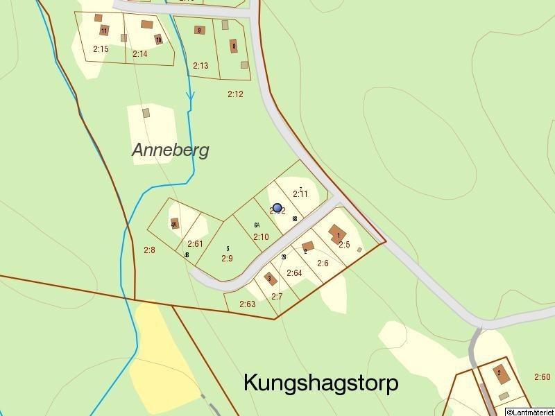 Marsjövägen 6b - Fastighetskarta