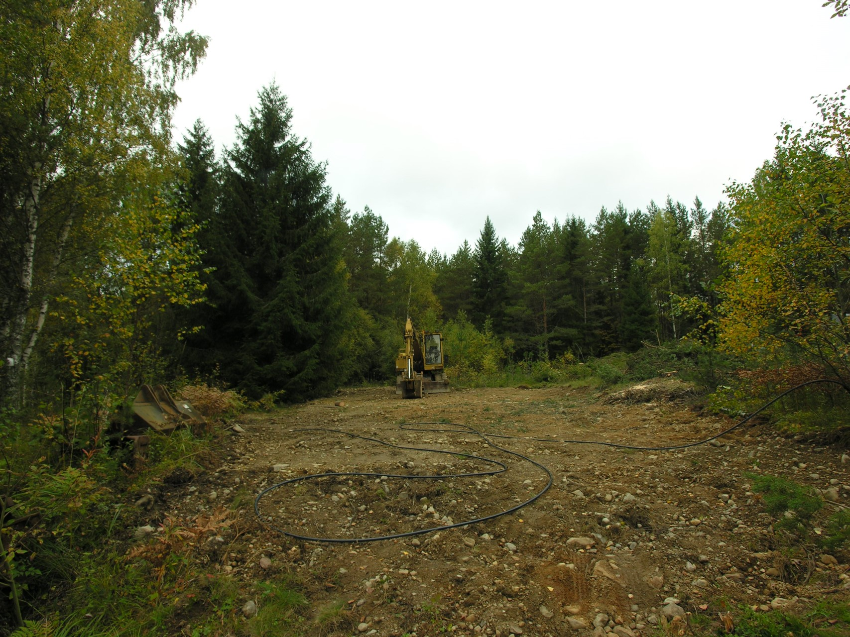 Marsjövägen 6b - Plan tomt