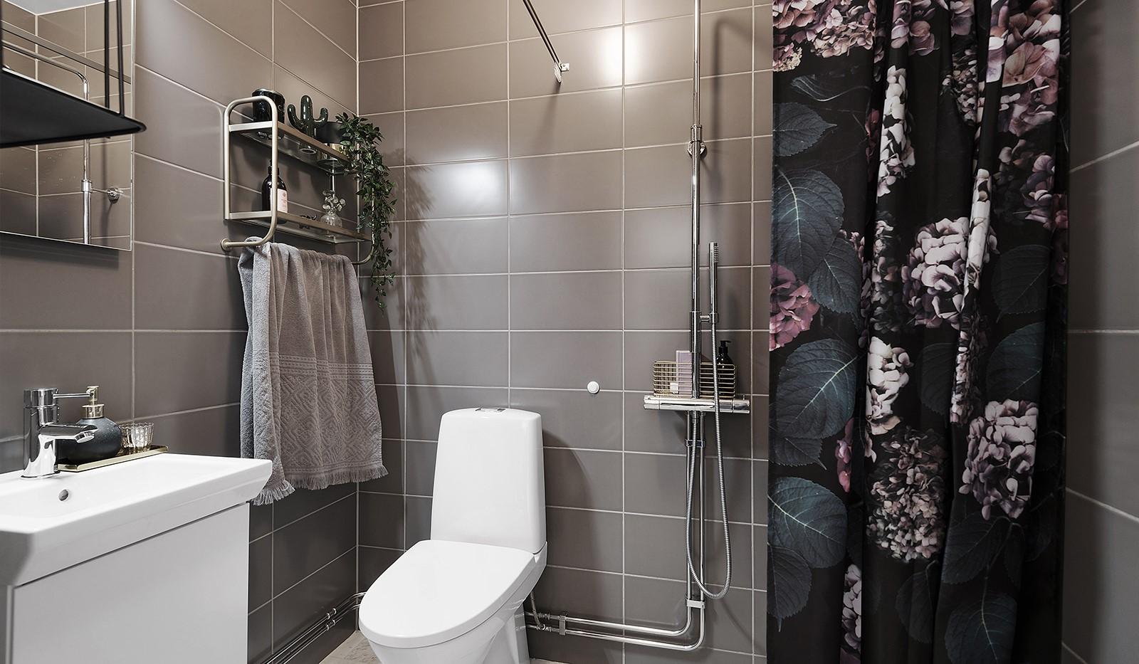 Ekfatsgatan 4, 6 tr - Badrum med dusch
