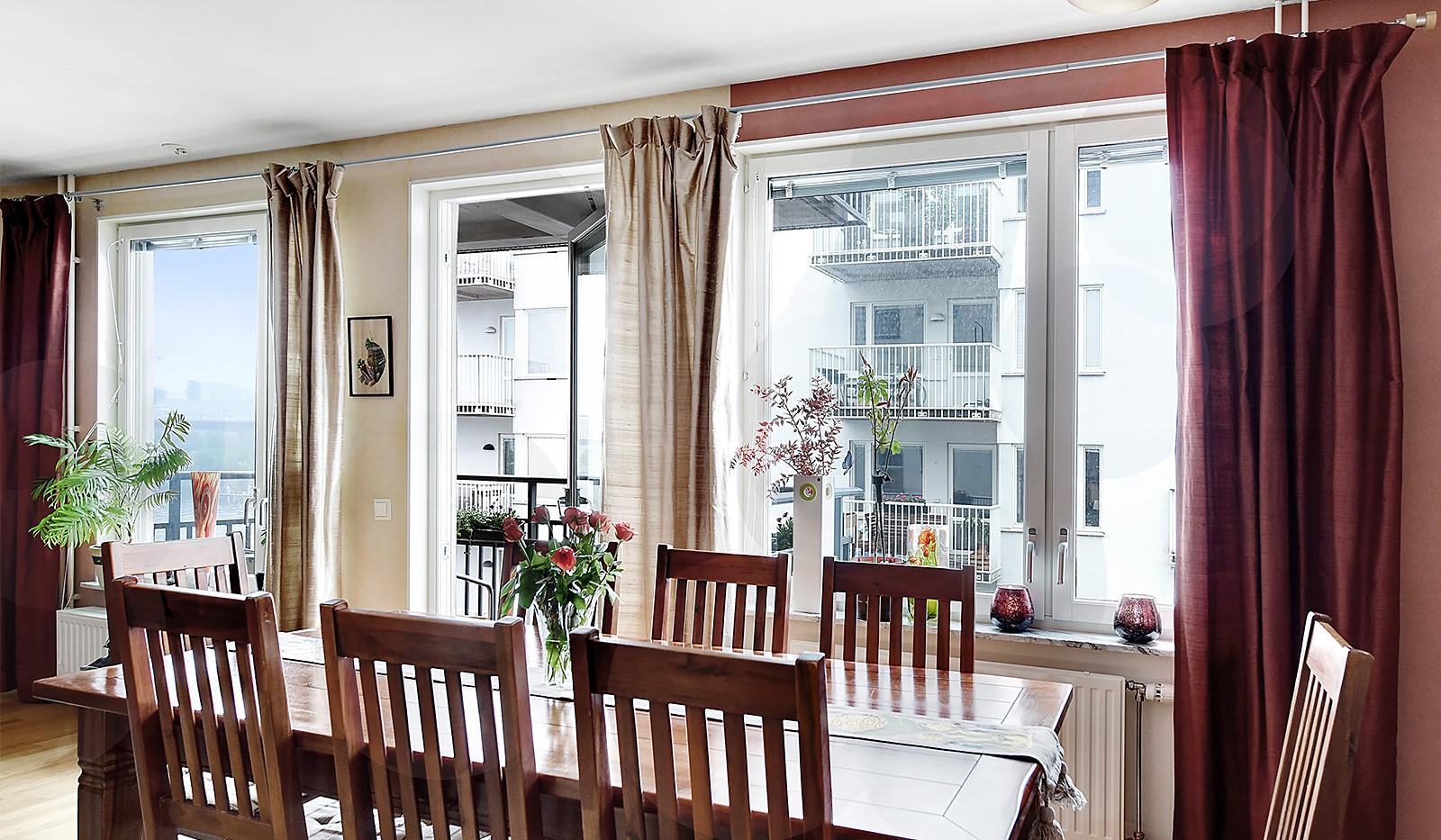 Vinodlargatan 2, 6 tr - Härliga fönsterpartier som ger mycket ljus