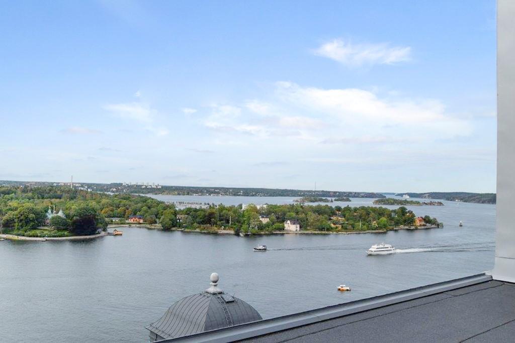 Makaronigränd 7, nb - Utsikt från terrassen