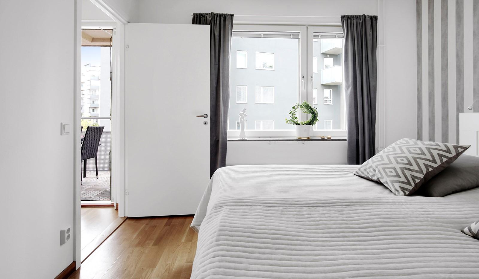 Hildebergsvägen 4, 3 tr - Generöst sovrum