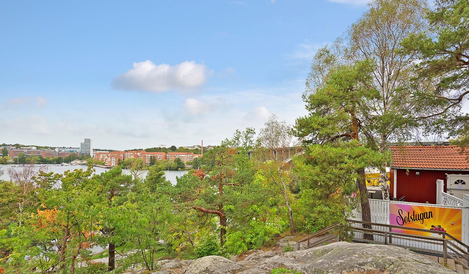 Wennerbergsgatan 6B, 5 tr - Områdesbild