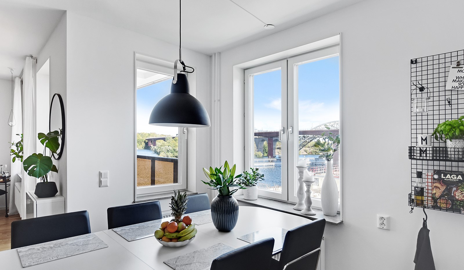 Ekfatsgatan 4, 4 tr - Plats för större matbord för många gäster