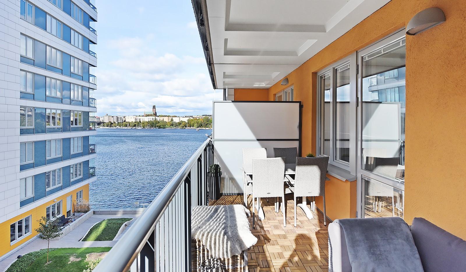 Ekfatsgatan 4, 4 tr - Stor balkong om ca 10 kvm i västerläge