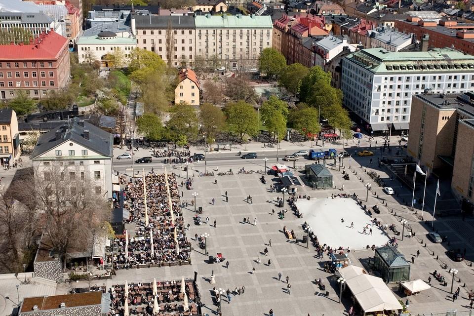 Fatburstrappan 12, 4 tr - Magnifik utsikt föreningens festlokal