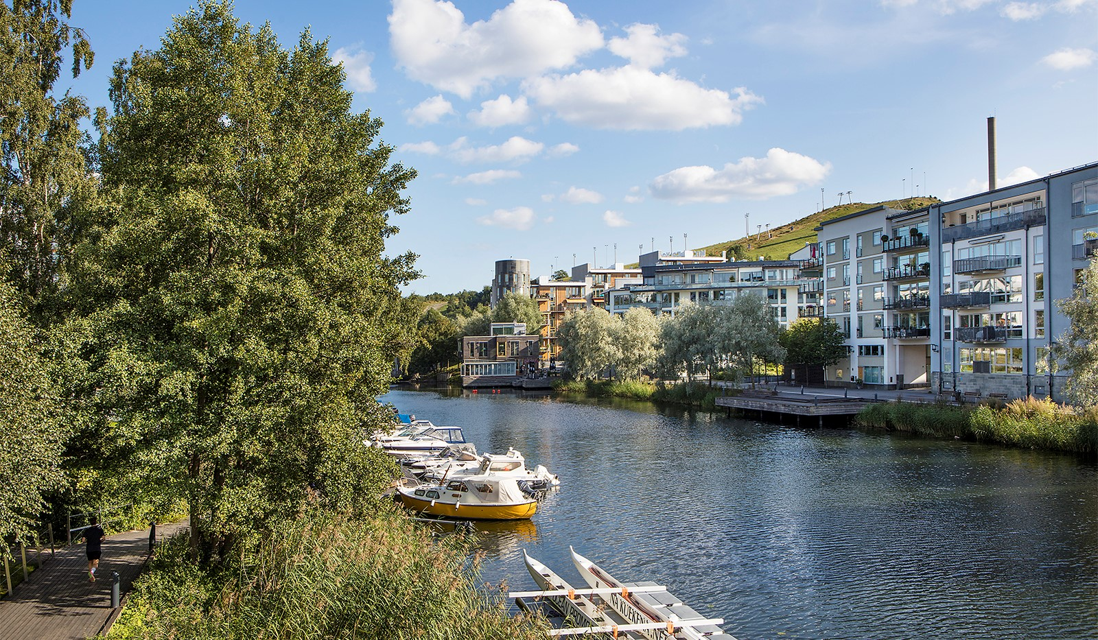 Sickla kanalgata 67, 3 tr - Sickla Kanal & Hammarbybacken