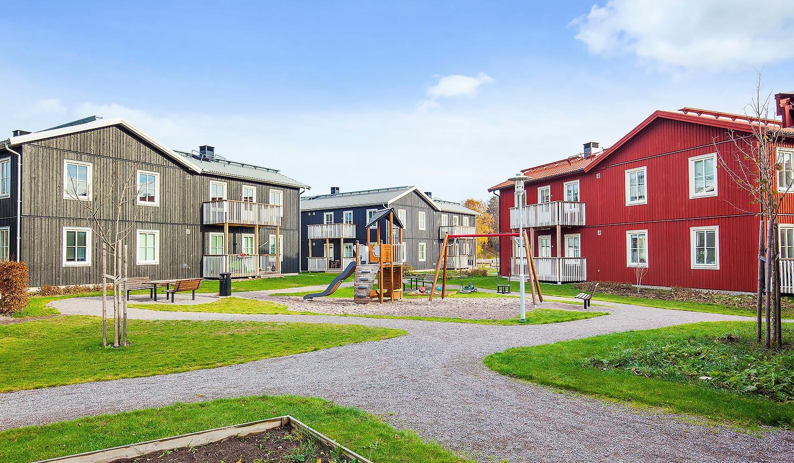 Runhällsgatan 21C - Gårdens lekplats