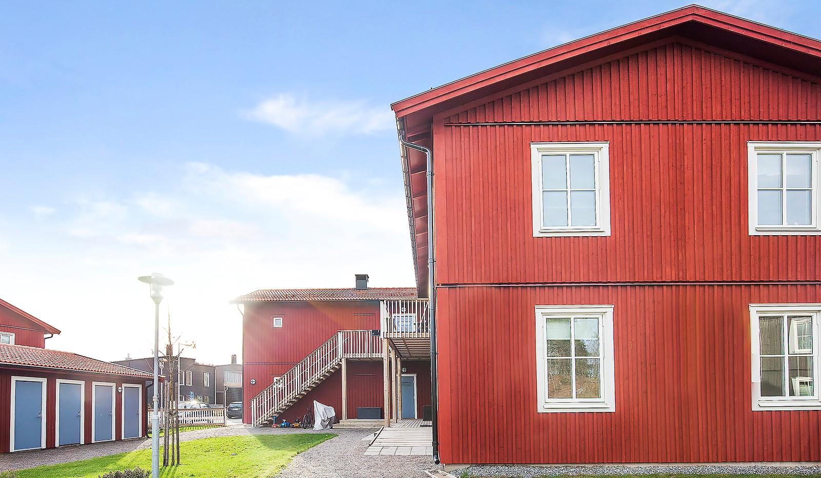 Runhällsgatan 21C - Gården