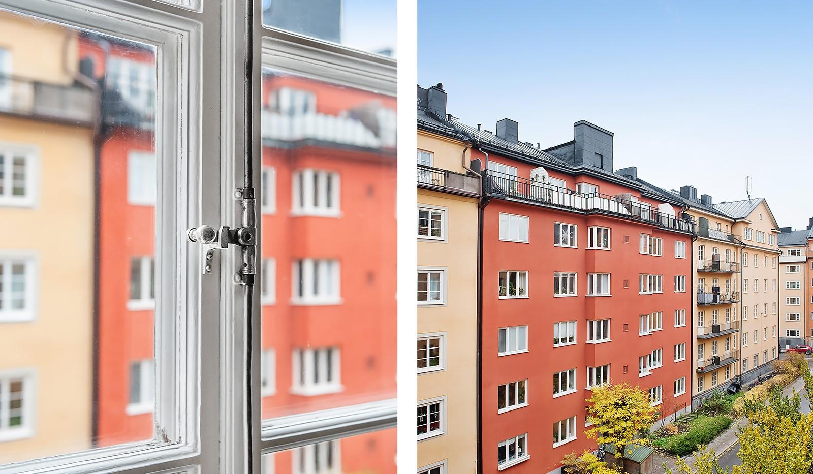 Sågargatan 14 - Utsikt mot gatan