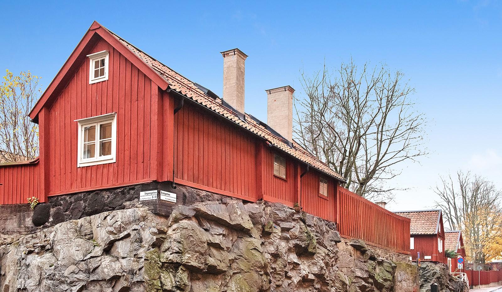 Sågargatan 14 - Sågargatan/Åsögatan korsning