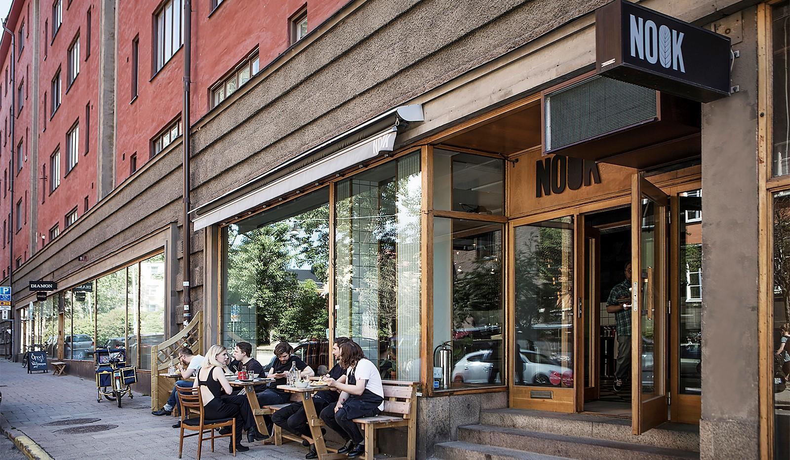Sågargatan 14 - Restaurang Nook på Åsögatan