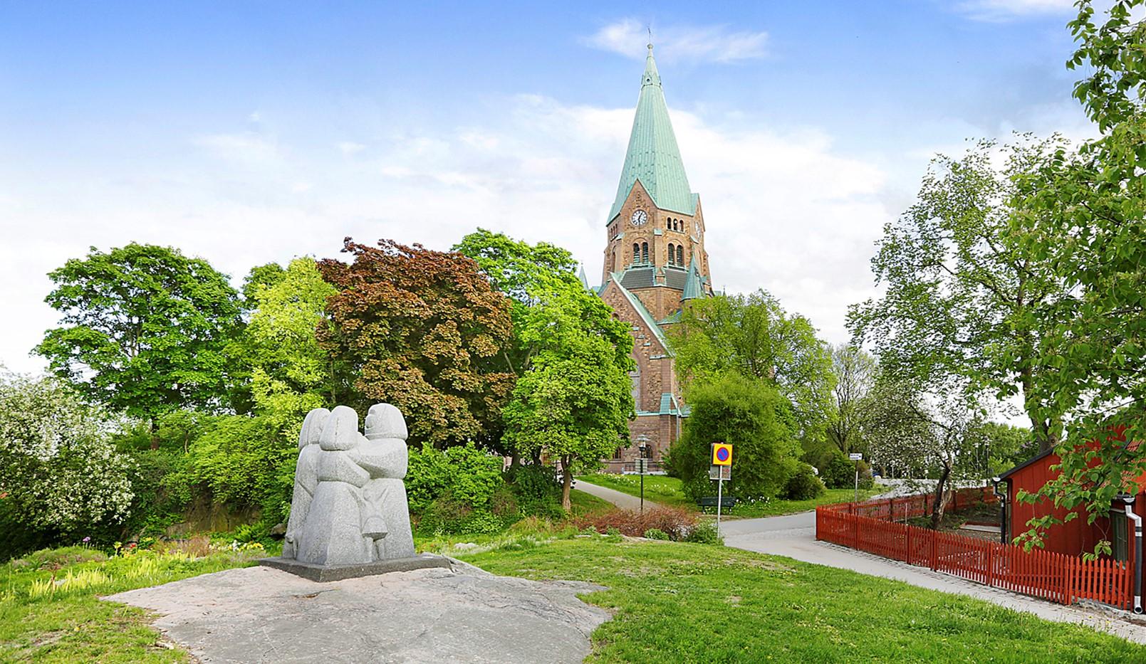 Sågargatan 14 - Vitabergsparken - Sofiakyrkan