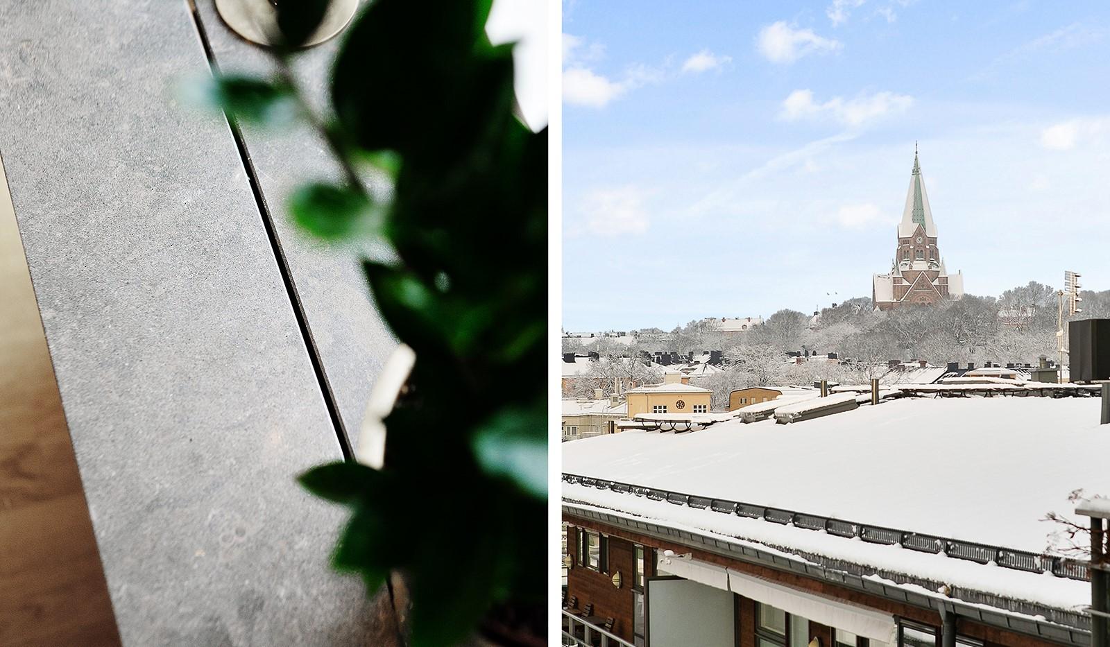 Konvojgatan 1, vån 6 - Välkommen till ett boende med vackra detaljer och hänförande utsikt