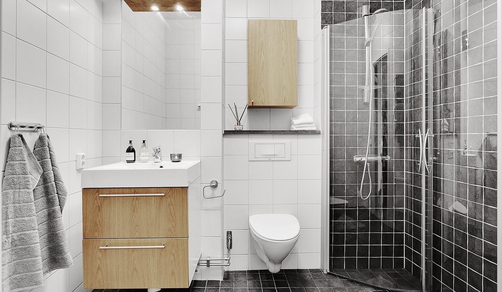 Konvojgatan 1, vån 6 - Fräscht och rymligt badrum