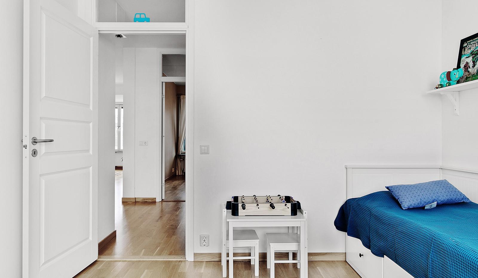 Konvojgatan 1, vån 6 - Här ryms både säng och övrigt möblemang