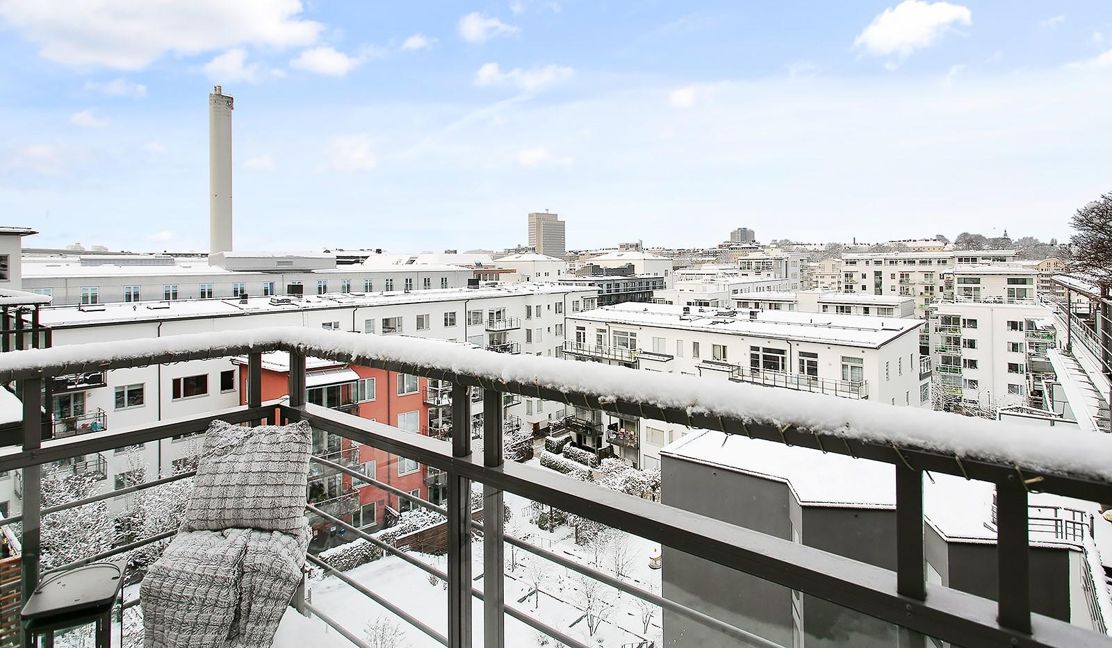 Konvojgatan 1, vån 6 - Bostaden är belägen i ett högt och fritt läge